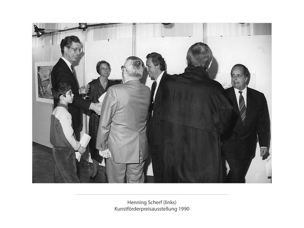 1990_q_Bilder_Foto_sw_0018_Kunstförderpreisausstellung 1990 Oh1990 · Bernward Boehmke Ohn